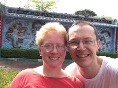 Selfie at Haw Par Villa