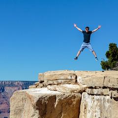12 Oct 2015 @ 14:41:48 (doevos) Tags: arizona usa jump grandcanyon az roadtrip vs amerika sprong rtday6