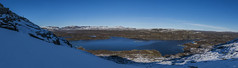 D8D_4079-Pano (Viggo Johansen) Tags: autumn sky panorama snow ice landscape photographer bluesky telemark haukeli kjelavatn