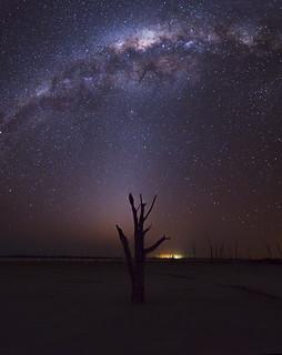 Milky Way at Lake Dumbleyung - Western Australia