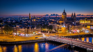 Amsterdam Skyline (explored)