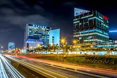 Lima Nocturna (Dennis Pineda) Tags: peru speed landscape arquitectura lima paisaje nocturna urbano exposicion larga seleccionar