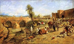 weeks_arrival_caravan_outside_city_morocco_c_1882 (Art Gallery ErgsArt) Tags: museum painting studio poster artwork gallery artgallery fineart paintings galleries virtual artists artmuseum oilpaintings pictureoftheday masterpiece artworks arthistory artexhibition oiloncanvas famousart canvaspainting galleryofart famousartists artmovement virtualgallery paintingsanddrawings bestoftheday artworkspaintings popularpainters paintingsofpaintings aboutpaintings famouspaintingartists