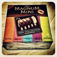 kiss #magnum #magnummini #kisscollection #icecream #firstkiss... (Fabrizio Cardinale) Tags: kiss icecream limitededition lovingkiss magnum firstkiss stolenkiss passionatekiss kisscollection magnummini uploaded:by=flickstagram instagram:photo=45081768022339288632687964 flirtykiss