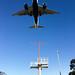 Landing runway 24R at LAX
