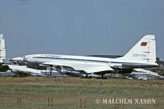 TU144 CCCP-77113 AEROFLOT (shanairpic) Tags: sst aeroflot jetairliner tu144 tupolevtu144