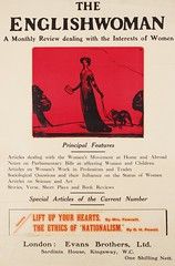 Suffrage campaigning: The Englishwoman, A Monthly Review1915