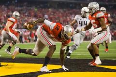 Rose Bowl (Poompow) Tags: usa cowboys arlington duck football texas quarterback pass ducks gameday wyoming sack ncaa touchdown receiver tackle espn punt endzone runningback autzenstadium interception cornerback pac12