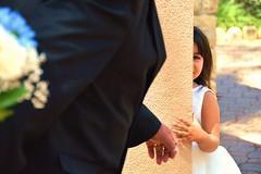 Shy flower girl (ValerieRenee84) Tags: wedding flower girl child shy