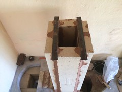 RMH0054 (velacreations) Tags: rmh woodburningstove rocketmassheater