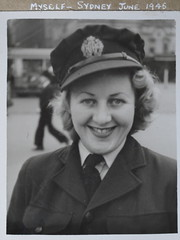 """Myself - Sydney June 1945"" (spelio) Tags: betty cornell bw print copies g12 prints 1945 waaaf 1943 194345 elizabeth bettie bet explore 6141views291215 passed away died 2015 fave airforce service"