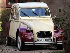 G280 MEW (Nivek.Old.Gold) Tags: 1989 citroen 2cv6 special dolly 602cc
