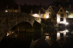 Nuit sur la Rance.jpg (BoCat31) Tags: photodenuit pont reflet bretagne dinan