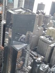 Aerial View, Snow View, Lower Manhattan, 4 World Trade Center, Hudson River, One World Observatory, World Trade Center Observation Deck, New York City (lensepix) Tags: lowermanhattan aerialview observationdeck skyscraper oneworldobservatory 4worldtradecenter