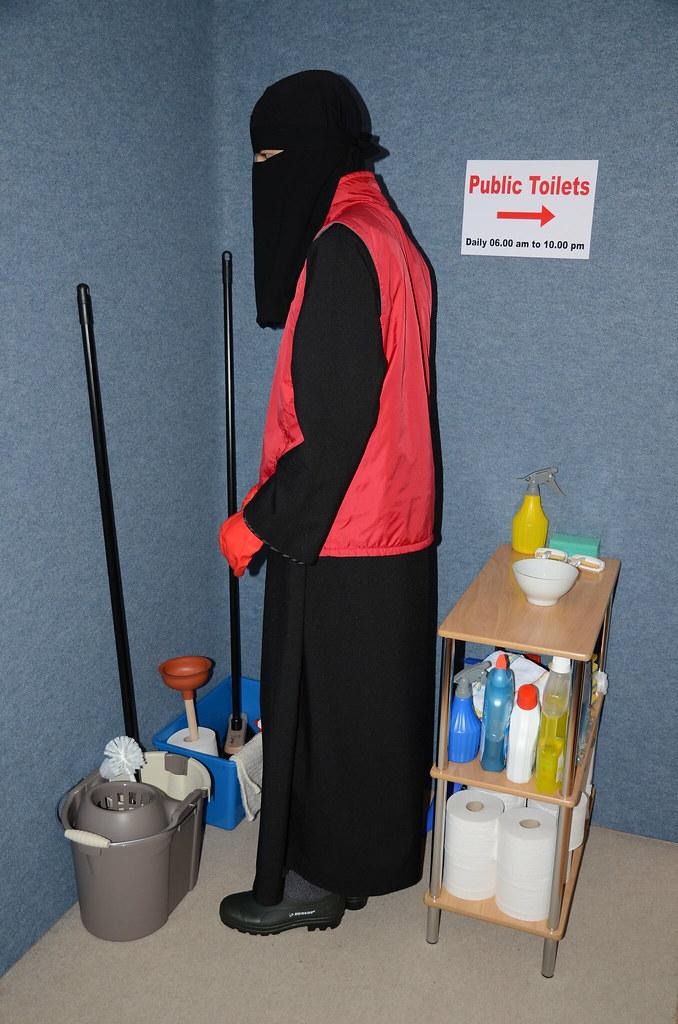 Bildergebnis für burka wc