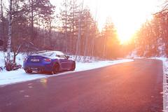 Subaru BRZ (Richard Langmajer) Tags: subaru brz ft86 toyobaru vehicle car outdoor winter sunset lens flare automotive