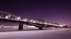 Alexandra Bridge Between Gatineau and Ottawa (Maxim B.) Tags: bridge night alexandra urban canada winter river snow ottawa gatineau ontario cityscape city quebec evening ice
