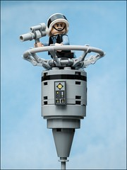 Rebel Lookout #LEGO #STARWARS (Alan Rappa) Tags: afol moc lego legobricks legominifigures legophotography minifigs minifigures rebellookout rebels rogueone soldier sonya6300 starwars toys tweetme yavin