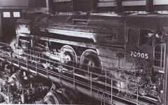 Britannia Class Steam Locomotive 70005 John Milton Under Test. (ManOfYorkshire) Tags: johnmilton britannia class steam engine locomotive 70005 test testing rugby centre rollingroad 1950s 1951 britishrailways speed speeds performance measure measured
