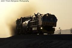 Rail Grinder leaving Siberia, CA (Travis Berryman) Tags: bnsf needlessub desertrailroading bagdad cadiz siberia