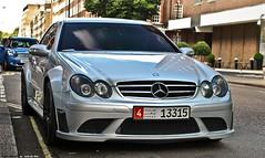 Mercedes CLK 63 AMG Black Series (Jack de Gier) Tags: mercedes london amg blackseries bs londen uk mayfair knightsbridge exotic supercar sportscar worldcar qatar arab speed uaead clk 63amg