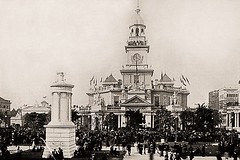 Pennsylvania State Building - World's Fair, Chicago 1893 (Peer Into The Past) Tags: peerintothepast pennsylvaniabuilding 1893 worldsfair vintage history illinois chicago