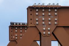 stainless (rooibusch) Tags: berlin brücke germany heerstrase deutschland rostfrei bolzen muttern behelfsbrücke bridge