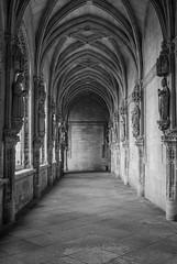 Toledo y sus galerías... (Leandro Fridman) Tags: galería toledo arcos blancoynegro blackandwhite byn bw monocromo monochrome arquitectura architecture españa europa nikon d60 nikond60