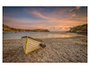 Sunset at the Cove. (Emily_Endean_Photography) Tags: sunset cove beach lulworth jurassiccoast dorset colours winter nikon wideangle coast leefilters seascape