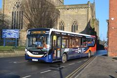 Stagecoach AD Enviro 200MMC 26082 YY16YJM - Chesterfield (dwb transport photos) Tags: stagecoach alexander dennis enviro 200mmc bus 26082 yy16yjm chesterifeld