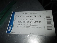 Cigarettes After Sex - 2017 Music Hall of Williamsburg 0648 (Brechtbug) Tags: cigarettes after sex 2017 music hall williamsburg printed out ticket performer libsid read sold january 01252017 nyc brooklyn new york city mr randy miller bass greg gonzalez vocals jacob tomsky drums phillip tubbs keyboard band musicians group stages bands cigarettesaftersex