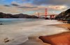 the golden gate bridge view from marshall beach (Rex Montalban Photography) Tags: rexmontalbanphotography goldengatebridge sanfrancisco nd10 longexposure hdr marshallbeach rain earlymorning
