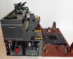 DSCF2217 (Nilbog Bricks) Tags: star wars lego moc minifigures stormtrooper base barracks
