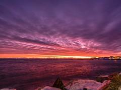 Sonnenaufgand zur Erinnering (PeterThoeny) Tags: andenes nordland norway sunrise outdoor sky cloud landscape shore seaside 1xp olympus em1 hdr olympusem1