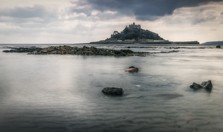 View to St Michaels mount from Marizion