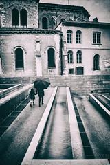 Rainy Day (davcsl) Tags: blackwhite bw biancoenero child childshappiness davcsl europe people france gard nimes languedocroussillon monochrome monotones noiretblanc nb nîmes occitanie southoffrance