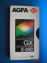 AGFA - Blank Tape (daleteague17) Tags: blank vhs tapes blankvhstapes pal palvhs videotape blankvideotape agfa