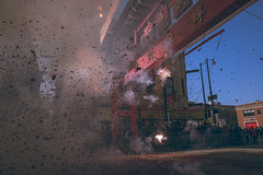 (Alek S.) Tags: street urban city chicago chinatown chinesenewyear chinese newyears candid illinois 2017 outside outdoors streetphotography fireworks explosion firecrackers smoke