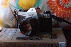 Honeywell Pentax Spotmatic SP IIa (rolandmks7) Tags: sonynex5n honeywell pentax spotmatic spiia camera takumar 50mm f14 naturallight