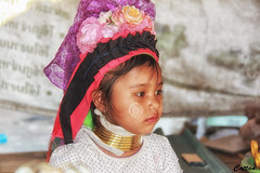 Long Neck Tribe, Thailand (cattan2011) Tags: longnecktribe culture traveltuesday travelblogger travel thailand tribe girl child streetart streetpicture streetphoto streetphotography street landscapeportrait