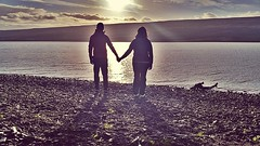 ICELAND (Julio Roberts) Tags: sunset sun lake island iceland islanda