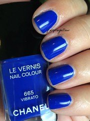 Chanel Vibrato (purple yellow) Tags: nail polish chanel 665 vibrato