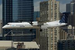 C-GKQB (Porter Airlines) (Steelhead 2010) Tags: bombardier dhc8 creg porterairlines ytz dhc8q400 cgkqb
