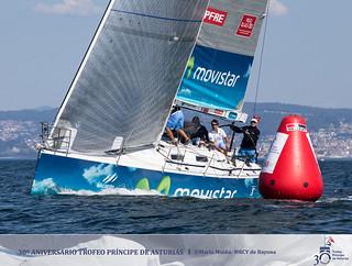 """El """"Movistar"""" en el 30º Trofeo Príncipe de Asturias"""