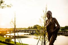 20150924-IMG_3659 (Michael Lee~) Tags: bridge art girl canon river eos warm dream taiwan peaceful carving tainan 台灣 台南 tw 橋 河 佳能 小品 和平 藝術 奇美 夢幻 戶外 新手 溫暖 700d 暖色 eos700d