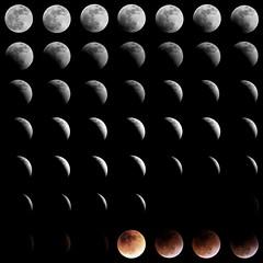 Eclipse de Luna 2015 - Collage ( ) Tags: red moon collage eclipse blood venezuela luna caracas handheld total tamron delfin roja tamron70300mm canon60d veneflickr abzueta delfinabzueta venedetodo