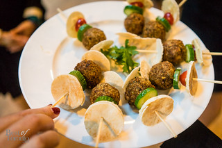 Falafel with fish belly