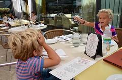 The Kids At Lunch At Rock Center Cafe (Joe Shlabotnik) Tags: nyc newyorkcity manhattan violet rockefellercenter everett 2015 afsdxvrzoomnikkor18105mmf3556ged september2015