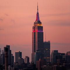 Eight Million Stories (Thomas Hawk) Tags: nyc newyorkcity sunset usa newyork brooklyn america unitedstates fav50 manhattan unitedstatesofamerica empirestatebuilding fav10 fav25 fav100