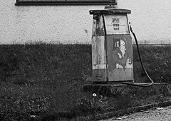 Old Fuel Pump - Storth, South Lakeland (wontolla1) Tags: park tower abandoned diesel stones garage south lakes rusty deer pump forgotten rusting petrol lakeland fuel pele arnside unused beetham dallam derv storth olympusmzuikodigitaled40150mmf4056 hazleslack